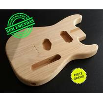 Corpo Guitarra Mod. Strato C/ Cavidades Tele - Cedro Rosa