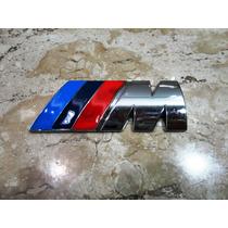 Bmw M Emblema Traseiro M Tamanho Aproxi. 8cm Por 3cm***