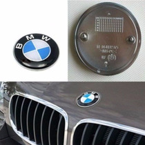 Emblema Frontal Bmw 82mm Capo Series 3 5 7 8 X5 Z3 X6 Z4