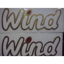 Emblema Da Porta Wind Corsa - Frete Grátis