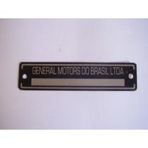 Emblema Cofre Opala Chevette Chassis Gustavobrasil