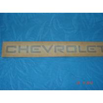 Adesivo Chevrolet Original Cinza, Kadett 89 A 91, Monza Sle