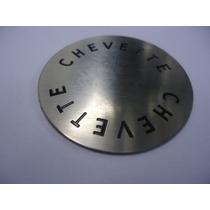 * Emblema Chevette Volante Botão Buzina Friso Grade Lente Gp
