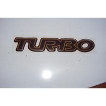 Eblema Turbo Ouro Tampa Tras-s-10 02/02 Original Gm:93396989