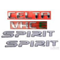 Emblemas Celta Spirit Vhce - 2007 À 2011 - Modelo Original