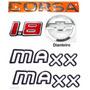 Emblemas Corsa Hatch 1.8 Maxx - 2003 À 2007- Modelo Original