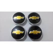 Kit Calotinha Centro De Roda Chevrolet Gm 51mm + Brinde