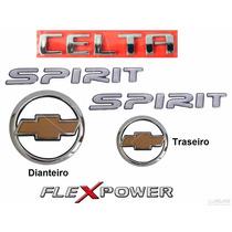 Emblemas Celta Spirit Flex - 2007 À 2011 - Modelo Original