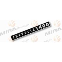 Adesivo 1400 Tampa De Válvulas Chevrolet Chevette Motor 1.4