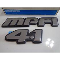 Emblema 4.1 Mpfi Silverado Blazer S10 Original Gm