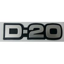 Emblema D20 Chevrolet Gm