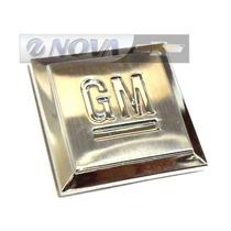 Emblema Mini Cubo Cromado Paralama Opala-1969-1992
