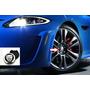 Calota Centro Roda Jaguar F-type Xf Xe Xj Kit 4 Pcs