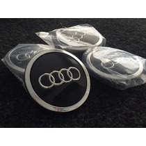 Audi Calotas Centro Rodas 70mm A3 S3 A4 A6 Rs6 S5 Rs7
