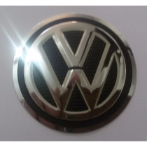 Emblema Alumínio Volante Vw Rallye Gol Parati Saveiro 50mm