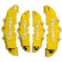 Capa Para Pinça De Freio Brembo Kit 4 Peças Amarelo