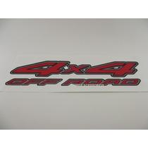 Emblema Adesivo 4x4 Off Road Nissan Frontier