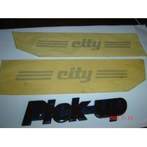Fiat 147 Pick Up City Adesivos Capu E Emblema Pick Up