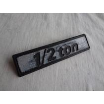 Emblema Picape Fiat 147 1/2 Ton Peça Original Muller Confira