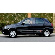 Kit Adesivo Faixa Lateral Palio 1.8r A Partir De 2006 Fiat