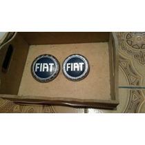Emblema Fiat Idea Grade Dianteira E Traseklira