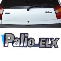 Emblematampa Porta Mala Fiat Palio Elx1996 A 2000 Cromado