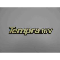 Emblema Fiat Tempra 16v Dourado Orig.fiat