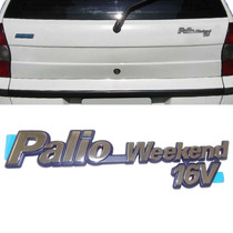 Emblematampa Porta Mala Fiat Palio Weekend 96 A 00 Cromado