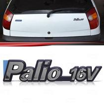 Emblema Tampa Porta Malas Fiat Palio 16v 96 97 98 99 2000
