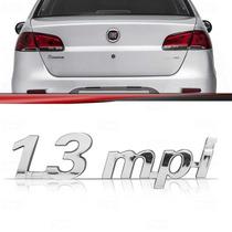 Emblema Porta Malas Fiat Palio Siena Strada 1.3 Mpi Cromado