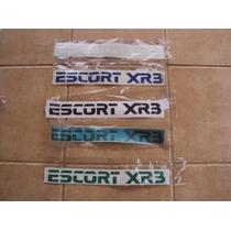Adesivo Novo Ford Escort Xr3 Mk4 Conversível
