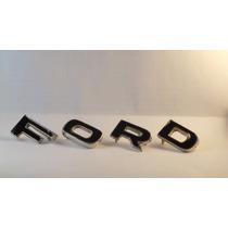 Letras Ford Dianteiras Para Corcel I E Aero Willys 69/73