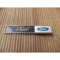 Emblema Ford Corcel Original Em Metal