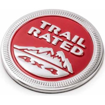 Emblema Jeep Renegade Cherokee Wrangler Trail Rated 4x4