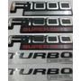Kit Emblemas F-1000 Super Duty Turbo Diesel 5 Peças + Brinde
