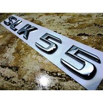 Emblema Slk55 Traseiro Mb Alta Qualidade Mod. 2001 A 2013