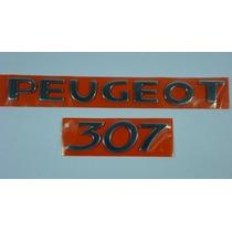 Kit Peugeot 307 Cromado Mala