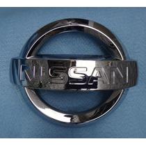 Emblema Nissan Da Grade Dianteira Original Nissan