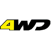 Adesivo 4wd 4 Wd Mala Renault Duster 4x4 + Brinde