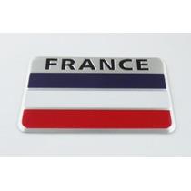 Emblema Bandeira France - Peugeot Renault Citroen