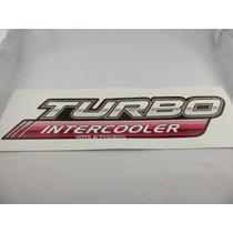 Emblema Adesivo Turbo Intercooler Hilux
