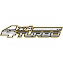 Emblema Adesivo Toyota Hilux 4x4 Turbo Intercooler 06 A 10