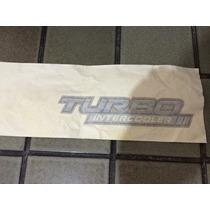 Emblema Adesivo Turbo Intercooler Hilux Original