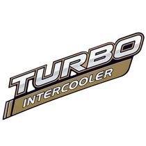 Emblema Adesivo Turbo Intercooler P/ Toyota Hilux 2014/15/..