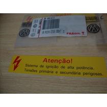 Etiqueta Alta Ignição Gol Parati G1 Fusca Santan Original Vw