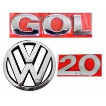 Emblema Gol G3 + 2.0 + Vw Grade- Geração 3 - Modelo Original