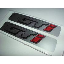 Vw Gol Gti G1 - Adesivos E Emblemas Da Coluna (par)