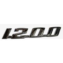 Emblema Do Fusca 1200 - Metal Cromado - Estilo Original