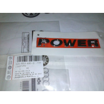 Emblema Power Gol Voyage Saveiro G5 G6 Jb Peças