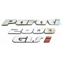 Kit Emblemas Parati Bola Glsi 2000 - Modelo Original